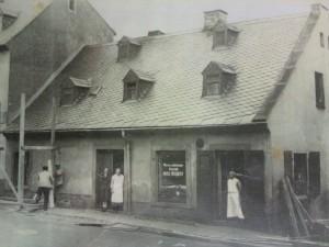 erster Standort Fleischerei Neubert
